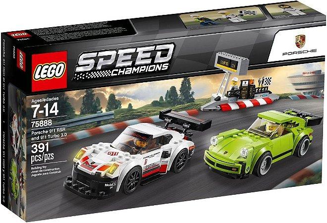 PORSCHE 911 RSR E 911 TURBO 3.0 LEGO 75888