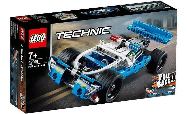 Perseguicao Policial - LEGO 42091