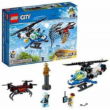 Policia Aerea - Perseguicao de Drone - 60207 - LEGO