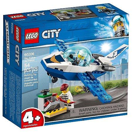 Policia Aerea - Jato-Patrulha - 60206 - LEGO