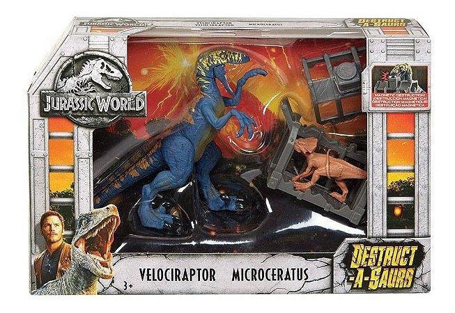 JURASSIC WORLD DESTRUTOSAUROS - FTD09 - MATTEL