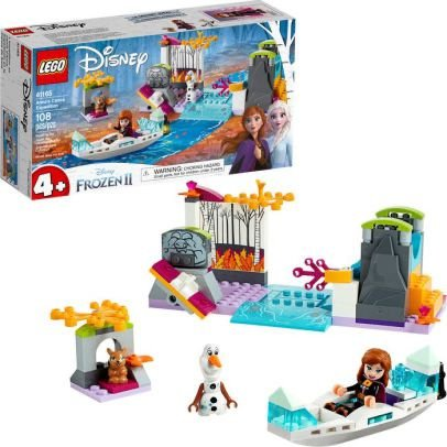 A Expedicao de Canoa da Anna - LEGO