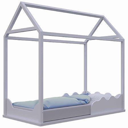 Cama Casinha Montessori com colchão incluso - Divicar