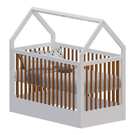 Berço Infantil Montessoriano Acetinado Pratic - Divicar