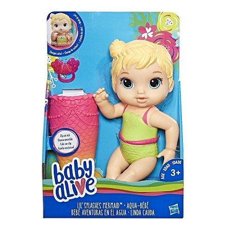 BABY ALIVE LINDA CAUDA LOIRA/E5850