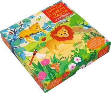 O Zoologico: Livro Com 3 Quebra-Cabecas - Usborne