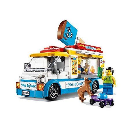VAN DE SORVETES - 60253 - LEGO