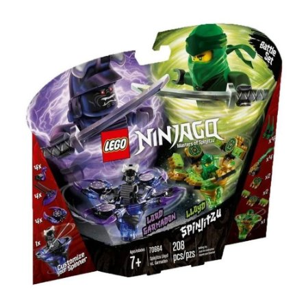SPINJITZU LLOYD VS. GARMADON - 70664 - LEGO