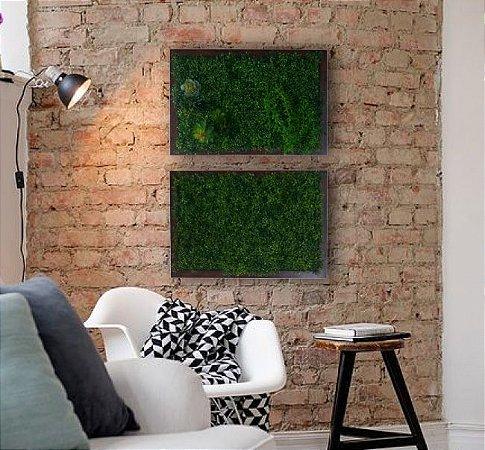 Quadro de jardim vertical 2 em 1