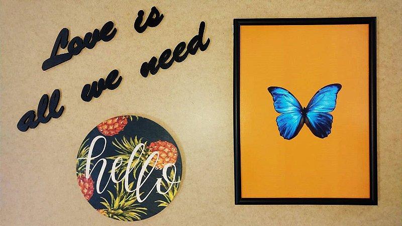 Kit de quadros Butterfly