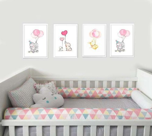 Quadros coleção baby medida 23 cm L x 33 cm A