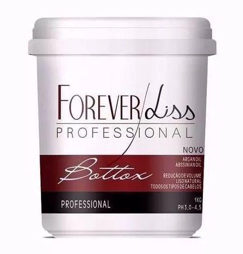 Forever Liss Bott-ox Capilar Argan Oil 1kg Nutrição