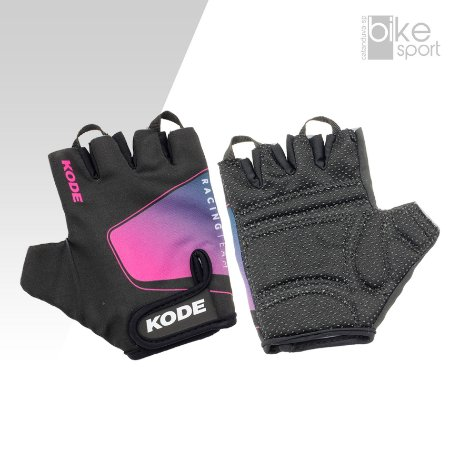 LUVA KODE FOR RACING PRETO/PINK