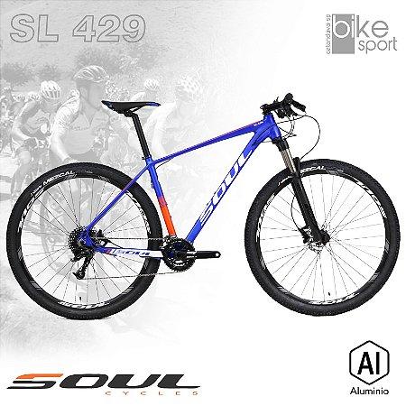 BIC. ALUMINIO SL429 X5 20V AZUL/LARANJA/BRANCO