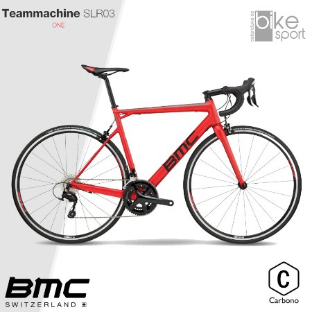 BIC. CARBONO TEAMMACHINE SLR03 ONE 105 SUPER RED