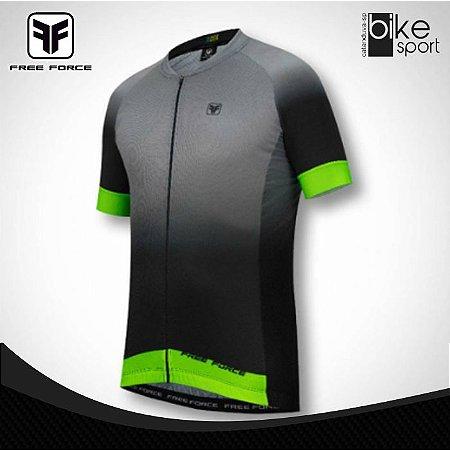 Camisa Masculino Sport Ash Preto Chumbo Verde