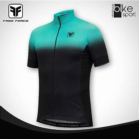 Camisa Masculino Team Two Preto e Azul