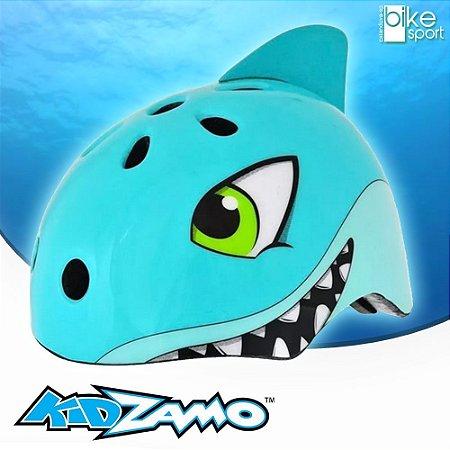 Capacete Infantil Tubarão Kidzamo