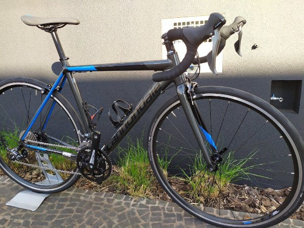 Cannondale CAAD Optimo Claris Road Bike 2019 - Black & Blue -   2019