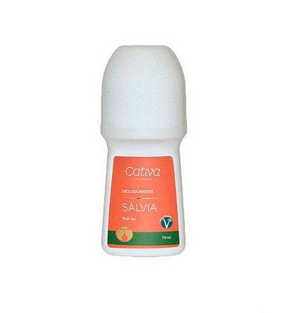 Desodorante Sálvia ou Aloe Vera (somente na versão Spray)