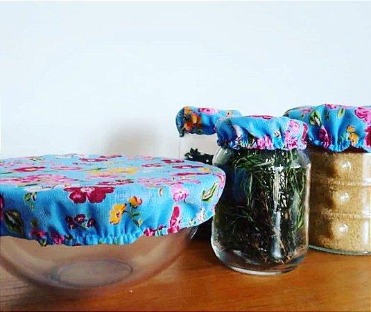 Toucas para potes (Kit com 3 tamanhos 9cm/ 15cm /22cm)