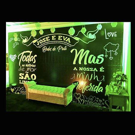 Painel Chalkboard Para Fotos Personalizado
