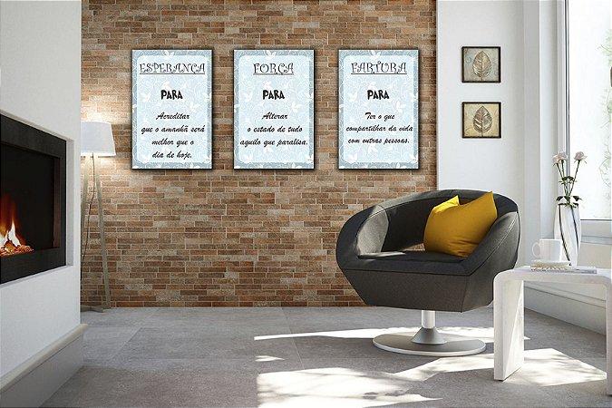 Placas Decorativas Com Frases de Otimismo