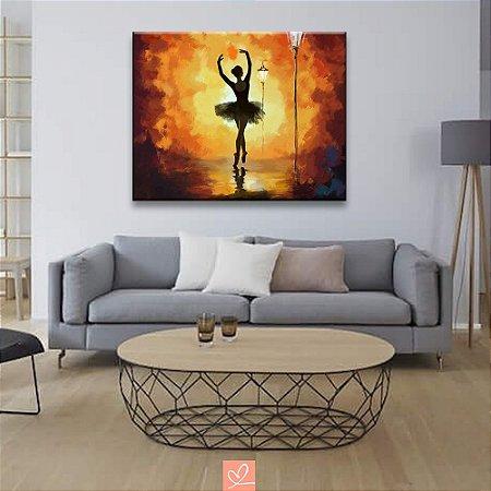 Quadro em Tela Canvas A Bailarina