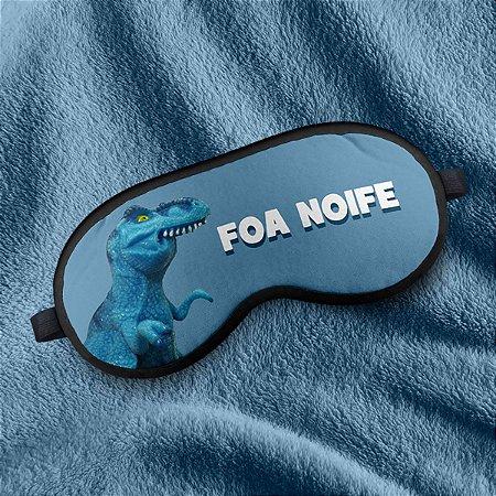 Máscara de Dormir em neoprene MEME Tiranofauro Rex Foa Noife