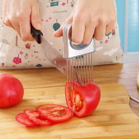 Suporte para Corte e Fatiar alimentos Frutas Carnes Legumes