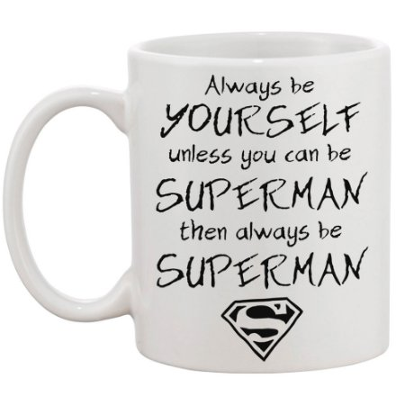 Caneca Always be Superman