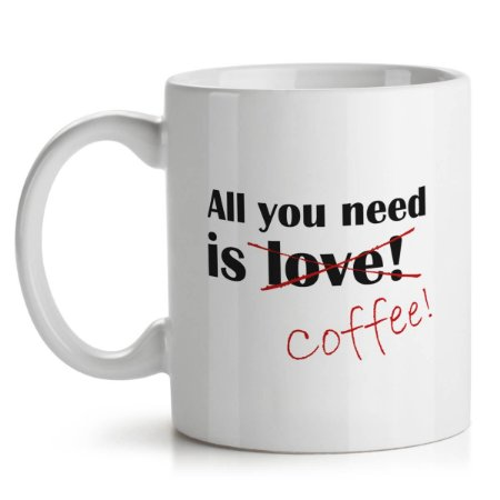 Caneca All You Need is Coffee