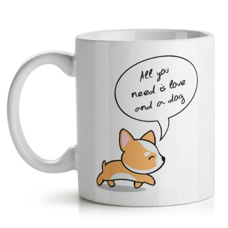 Caneca All You Need is Love and a Dog