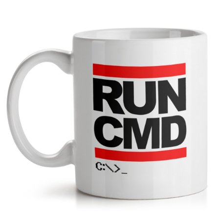 Caneca Hacker Run CMD