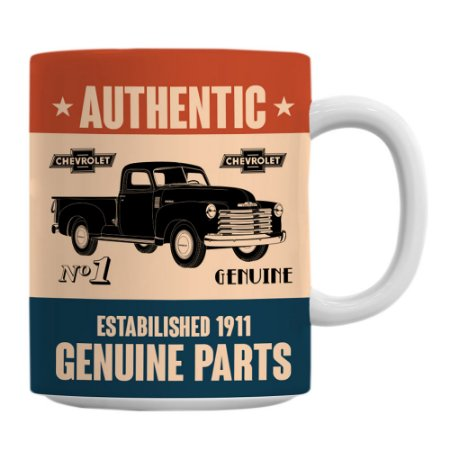 Caneca General Motors Retrô Genuine Parts