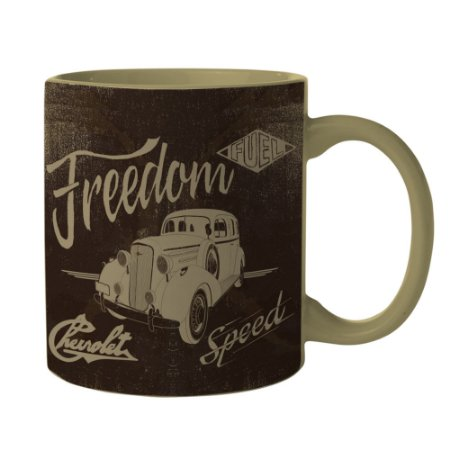 Caneca General Motors Retrô Freedom
