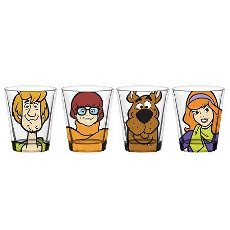 Jogo de copos Shot Scooby Doo