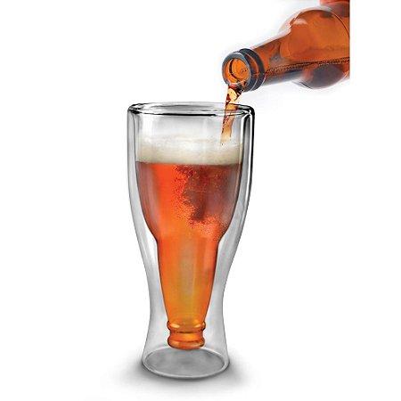 Copo Garrafa de Cerveja Hopside Down
