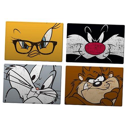 Jogo Americano Looney Tunes - set com 4 unidades