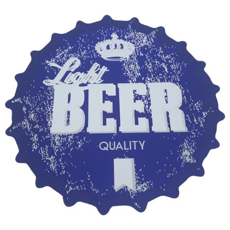 Lugar Americano tampa de garrafa Light Beer Quality