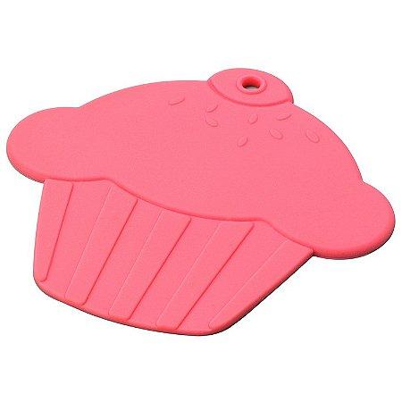 Descanso para panela Cupcake - rosa