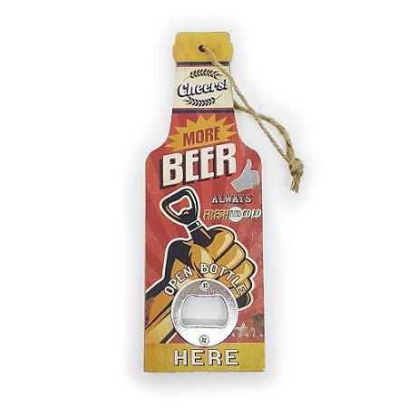 Abridor de Garrafa More Beer
