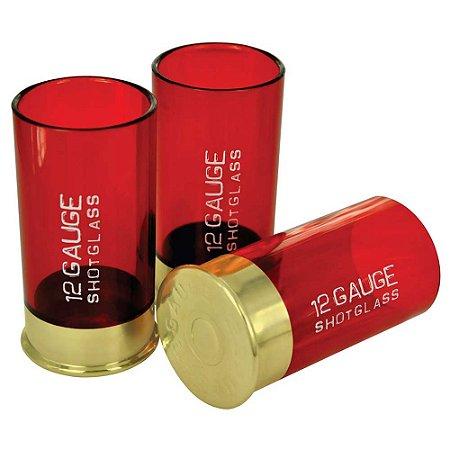 Jogo de copos - 12 Gauge Shotglass