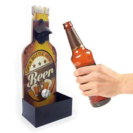 Abridor de Garrafa de Parede Beer