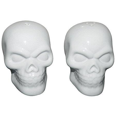 Saleiro e Pimenteiro Caveira - Skull