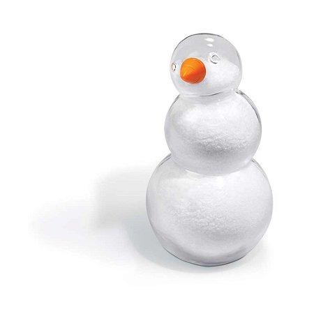 Saleiro em vidro Salty the Snowman