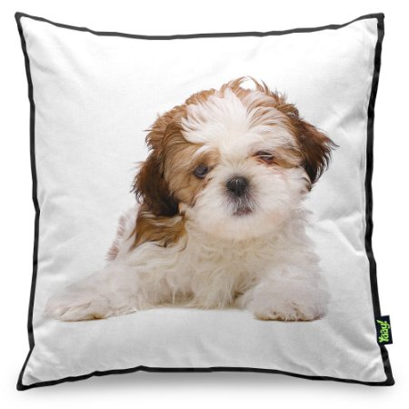 Almofada Love Dogs Black Edition - Shih-tzu