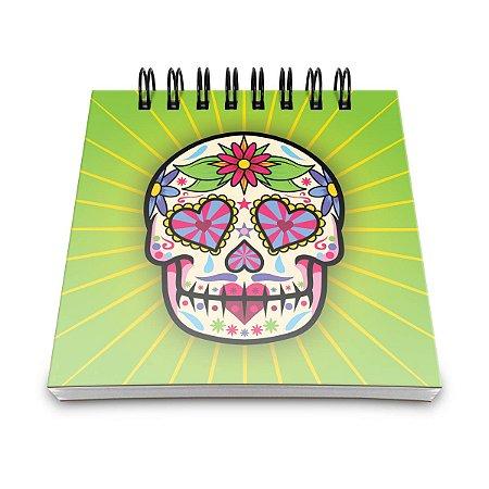 Bloco de Anotações Dia de Los Muertos