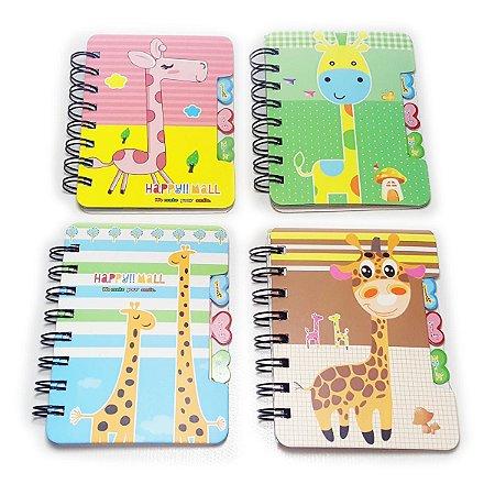 Mini Agenda - Tema Girafas