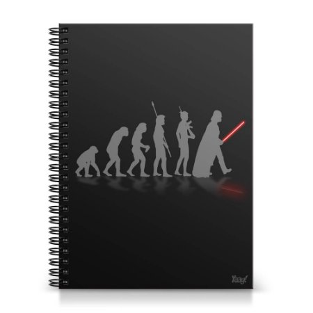 Caderno Universitário Capa Dura 1x1 - Geek Evolution